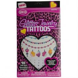 Купить Татуировки временные Savvi «Модные украшения». В ассортименте