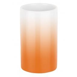 фото Стакан для ванной Spirella Tube Gradient. Цвет: оранжевый