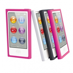 Купить Чехол и пленка на экран Muvit Rubber для iPod Nano 7G