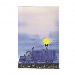 фото Обложка для паспорта Mitya Veselkov «Мальчик, Луна и грузовик»