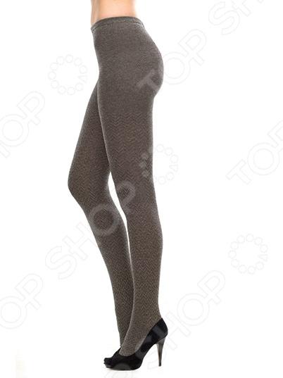Колготки ажурные Burlesco R61082. Цвет: серый