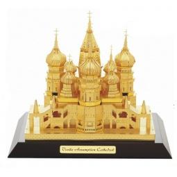 фото Пазл-конструктор 3D TUCOOL «Покровский собор»