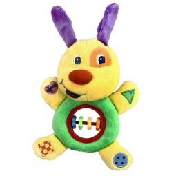 фото Мягкая игрушка развивающая Жирафики «Озорной щенок»