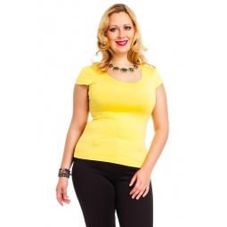 фото Футболка Mondigo XL 7001. Цвет: желтый. Размер одежды: 52