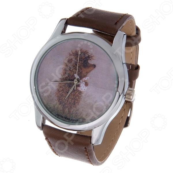 Часы наручные Mitya Veselkov «Ежик с котомкой» Color часы наручные mitya veselkov райский сад color