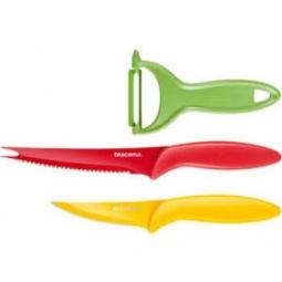 фото Набор ножей с овощечисткой Tescoma Presto Tone