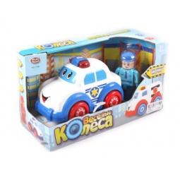 фото Машинка игрушечная PlaySmart «Веселые колеса» Р41423