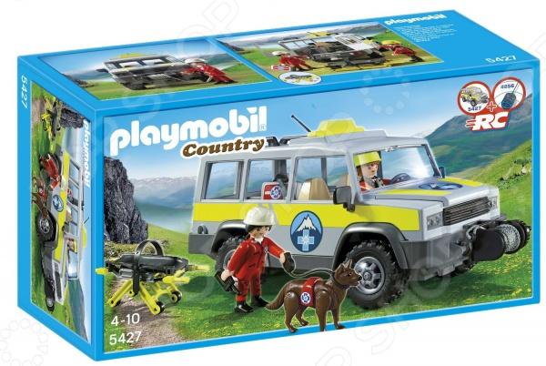 Набор игровой Playmobil «В горах: Спасательный грузовик»