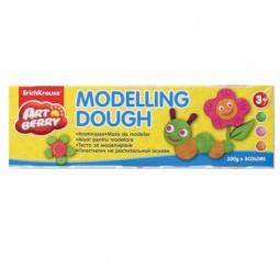 фото Пластилин на растительной основе большой Erich Krause Modelling Dough №2: 3 цвета