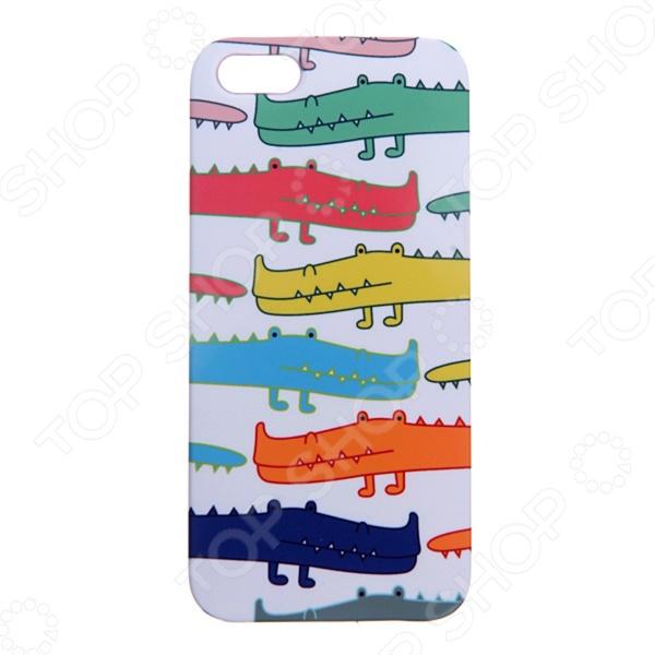Чехол для iPhone 5 Mitya Veselkov «Большие крокодилы»