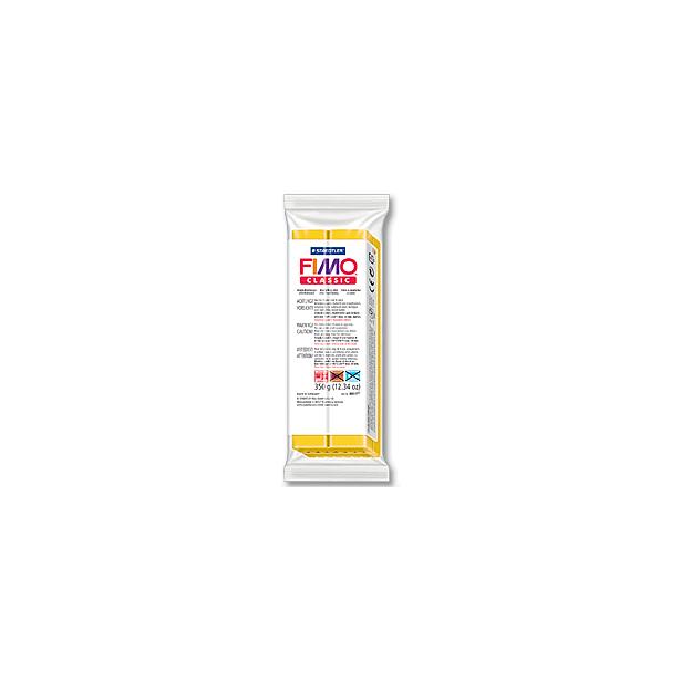 фото Глина полимерная запекаемая Fimo Classic 8001. Цвет: золотисто-желтый