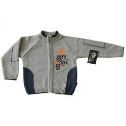 Купить Кофта вязанная для мальчика EKO «Заплатка»
