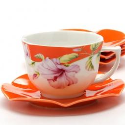 фото Чайный набор Loraine LR-24707 «Цветы»