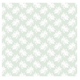 фото Отрез ткани Tilda Белые розы. Цвет: салатовый