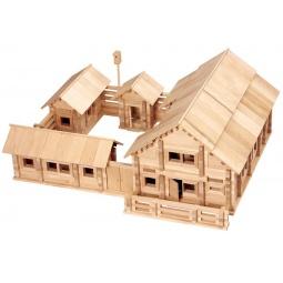фото Конструктор деревянный Теремок «Постоялый двор»