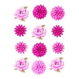 фото Набор пуговиц из фанеры Tilda Цветы 480039
