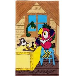 фото Полотенце махровое Мульткарнавал «Возвращение блудного попугая» 01300115872. В ассортименте