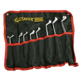 фото Набор ключей накидных изогнутых Stayer «Мастер» 27153-H8