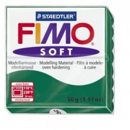 фото Глина полимерная запекаемая Fimo. Цвет: изумрудный