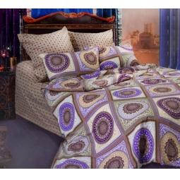 фото Комплект постельного белья Сова и Жаворонок «Бухара» 19056/2. Евро