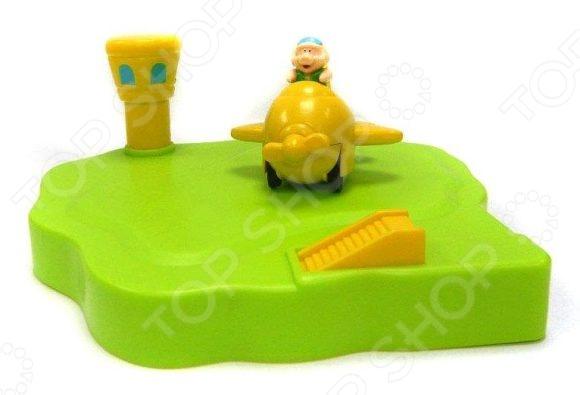 Игрушка для ванны Жирафики «Аэродром плавающий». В ассортименте