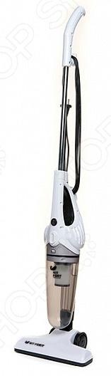 Пылесос-электровеник KITFORT КТ-510Вертикальные пылесосы. Электровеники<br>Пылесос-электровеник KITFORT КТ-510 - современная удобная и практичная модель. Пылесос имеет особую изящную конструкцию и вытянутую форму, благодаря чему его можно без труда поставить в угол или за дверь и он не займет много места при этом будет готов к эксплуатации в любой момент. Тип электропитания - бытовая электросеть. Длина сетевого шнура составляет 4 метра. Пылесос с лёгкостью очистит даже самые потайные уголки вашей квартиры и значительно сэкономит время уборки. Модель отличается высокой практичностью и надежностью. Благодаря специальному фильтру, который эффективно очищает воздух на выходе, пыль не проникает обратно в помещение. Небольшой компактный размер устройства позволяет пользоваться пылесосом-электровеником KITFORT КТ-510 даже детям или пожилым людям.<br>