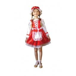 фото Костюм карнавальный для девочки Новогодняя сказка «Красная шапочка»