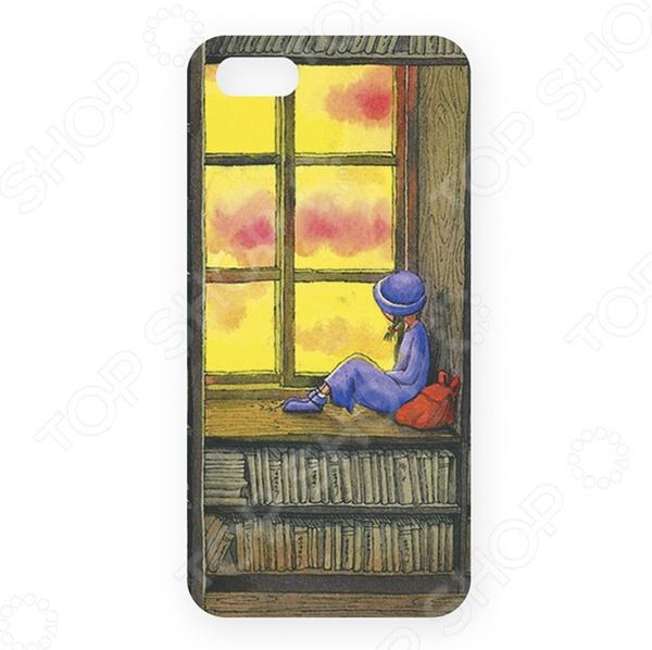 Чехол для iPhone 5 Mitya Veselkov «В библиотеке»