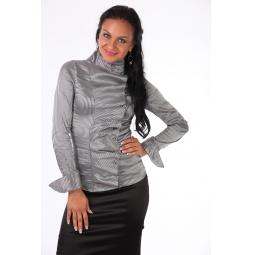 фото Блузка Mondigo 9623. Цвет: серый. Размер одежды: 46