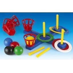 фото Кольцеброс NINA с корзинами и мячами