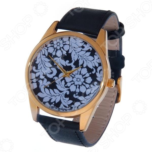 Часы наручные Mitya Veselkov «Узоры » Gold