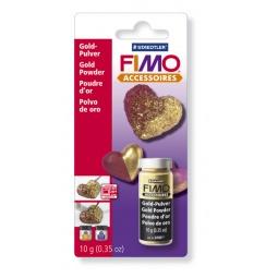 фото Пудра для декора Fimo 8709. Цвет: золотой