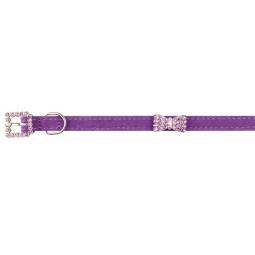 фото Ошейник для собак DEZZIE «Балто». Цвет: фиолетовый. Размер: 18-23 см