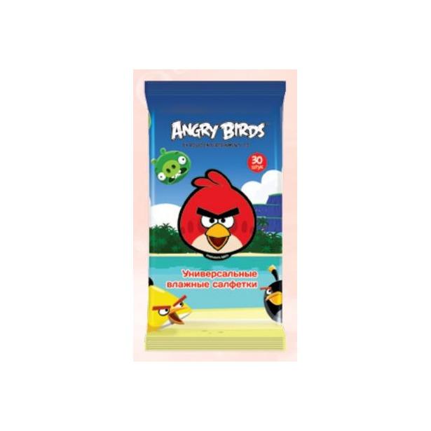фото Набор салфеток влажных детских Авангард AB-48739 Angry Birds