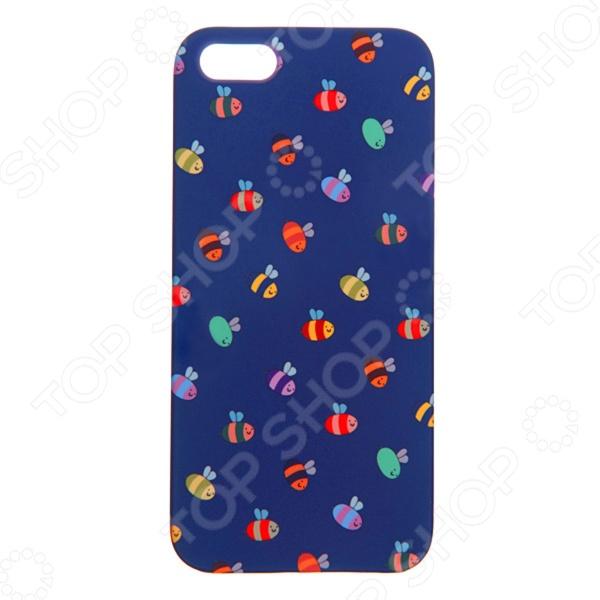 Чехол для iPhone 5 Mitya Veselkov «Пчелки» 060 вольдемар бонзельс приключения пчелки майи