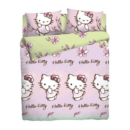 Купить Детский комплект постельного белья Hello Kitty 180500
