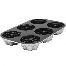 фото Форма для выпечки Marmiton «Ассорти с отверстием», 6 ячеек
