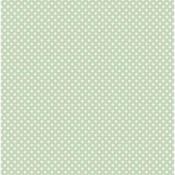 фото Отрез ткани Tilda Мелкий горошек. Цвет: зеленый