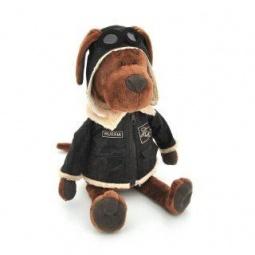 фото Мягкая игрушка для ребенка Orange «Пес Барбоська Авиатор»