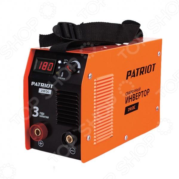 Сварочный аппарат Patriot 210DC  сварочный инвертор patriot power 210dc