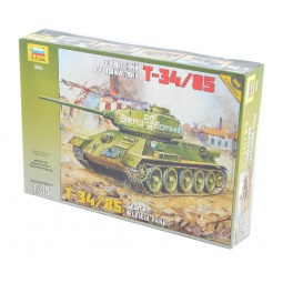 фото Сборная модель Звезда советский танк «Т-34/85»
