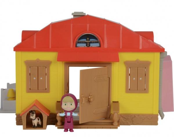 Набор игровой для девочки Simba «Домик Маши с фигуркой Маши»