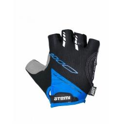 фото Перчатки велосипедные вентилируемые Atemi AGC-04. Цвет: синий. Размер: L