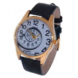 фото Часы наручные Mitya Veselkov «Спираль времени» Gold