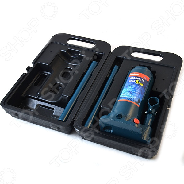 Домкрат гидравлический бутылочный с клапаном Megapower M-90504S - фото 7