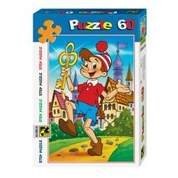 фото Пазл 60 элементов Step Puzzle Золотой ключик