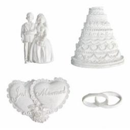 фото Набор фигурок для декорирования Melissa Frances Свадебные