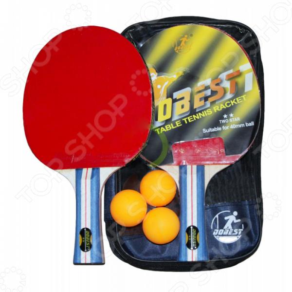 Набор для настольного тенниса DoBest BB01 2* светильник настенный бра a 3800 1 reccagni angelo бра для гостиной бра для спальни для спальни