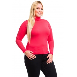 фото Водолазка Mondigo XL 204. Цвет: ярко-розовый. Размер одежды: 52