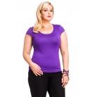 Фото Футболка Mondigo XL 7001. Цвет: фиолетовый. Размер одежды: 52